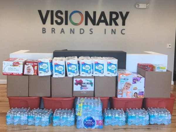 Visionary Brands Giving Back